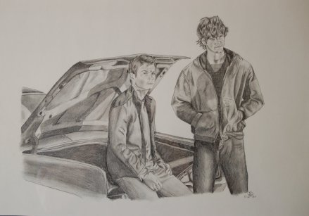 Winchester brothers: Supernatural